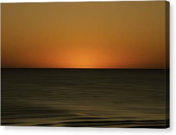 Rising Sun Canvas Print by Mario Celzner