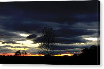 Rising Sun Canvas Print by Penny Everhart