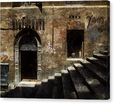 Ristorante Canvas Print by Gun Legler