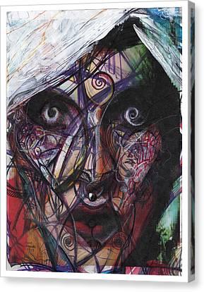 Rita Dambook Remixed Canvas Print by Eddie Rifkind