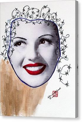 Rita Haywired Canvas Print