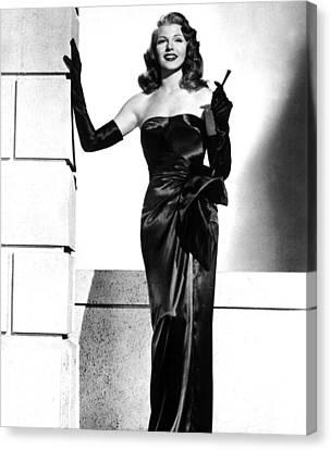 Rita Hayworth Canvas Print