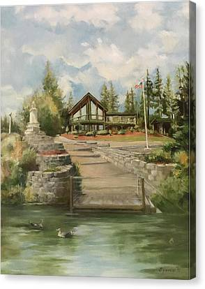 Rita's House Canvas Print