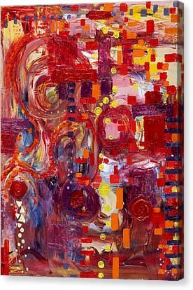 Rite Of Spring Canvas Print by Regina Valluzzi