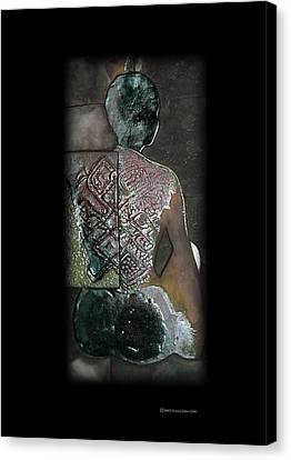 Ritual Transformation Canvas Print by Bates Clark