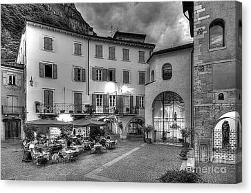 Piazzo Canvas Print - Riva Del Garda by Christian Hallweger