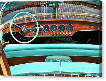 Riva Super Ariston Canvas Print by Tim Gainey