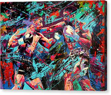 Rivals- Large Work Canvas Print