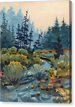 River Bend Canvas Print by Donald Maier