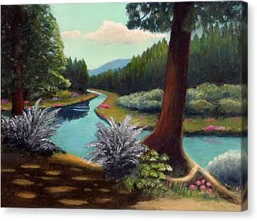 River Bend Canvas Print by Gordon Beck