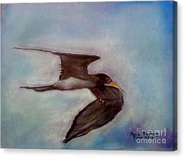 River Bird Canvas Print