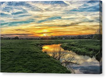 River Colne Essex Canvas Print