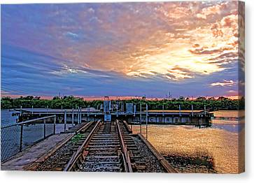 River Crossing Canvas Print by HH Photography of Florida