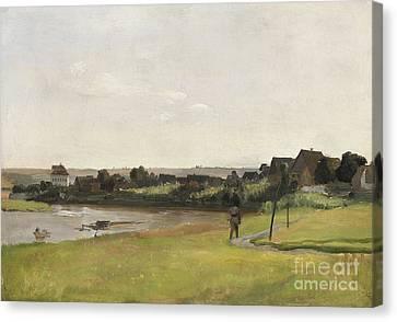 River Elbe Canvas Print