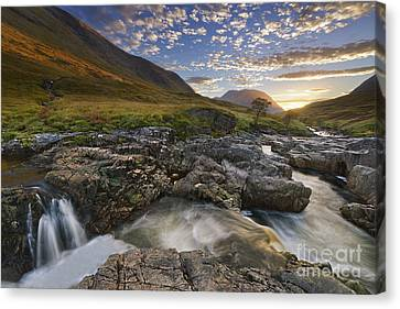 River Etive 2 Canvas Print by Rod McLean