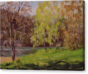 River Forks Spring 2 Canvas Print