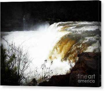 River Ghosts Canvas Print by Anita Faye