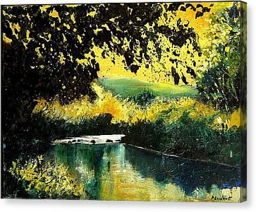 River Houille  Canvas Print by Pol Ledent