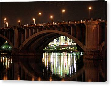 Canvas Print featuring the photograph River Nights by Kate Purdy