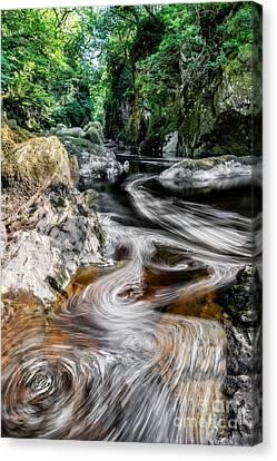 River Of Dreams Canvas Print by Adrian Evans