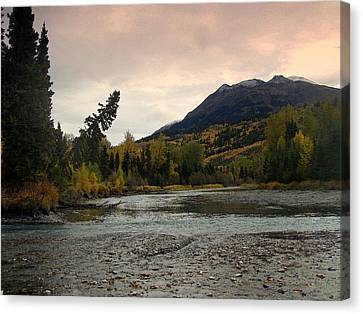 River Of Life Canvas Print by Eric Knowlton