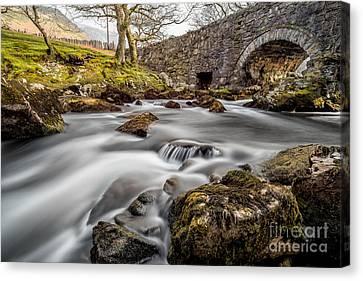 River Ogwen Bridge Canvas Print