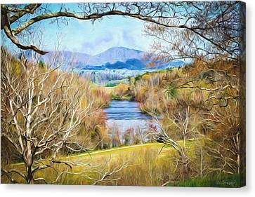 River Overlook Canvas Print