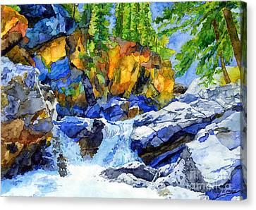 River Pool Canvas Print by Hailey E Herrera