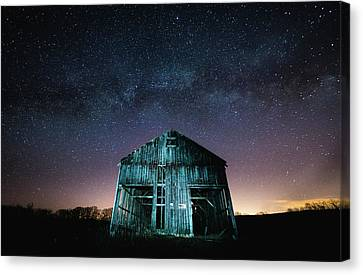 Western Ma Canvas Print - River Road by Black Squirrel Photo