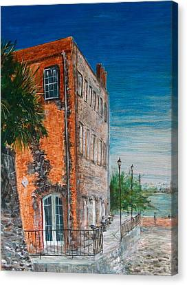 River Street Canvas Print by Pete Maier