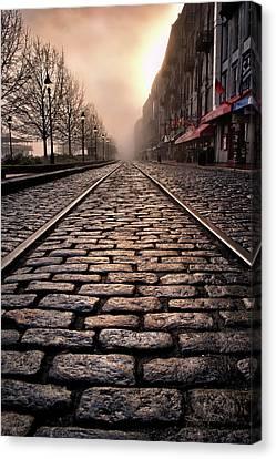 Sullivan Canvas Print - River Street Railway by Renee Sullivan