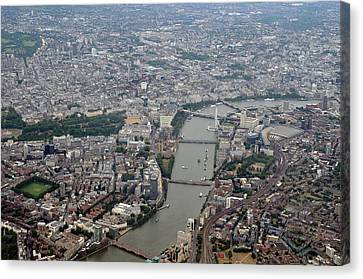 River Thames Canvas Print by Graham Taylor
