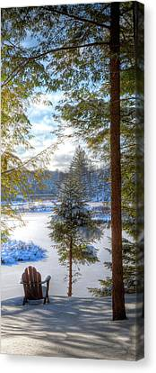 River View Canvas Print