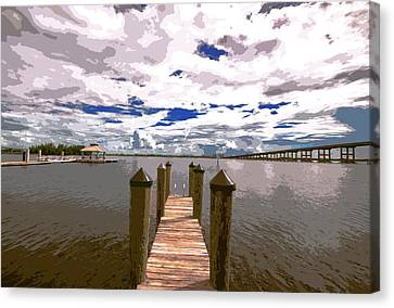 River View Canvas Print by Michael Frizzell