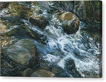 River Water Canvas Print by Nadi Spencer