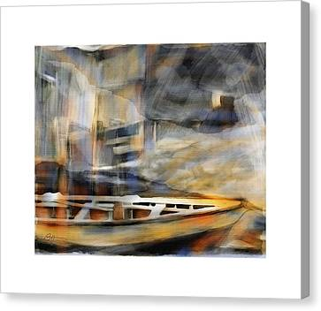 Riverboat Canvas Print by Bob Salo