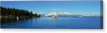 Riverboat On Lake Tahoe, California Canvas Print