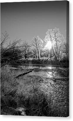 Rivers Edge Canvas Print by Annette Berglund