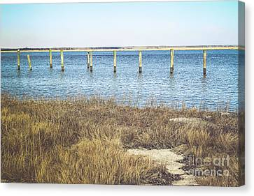 Canvas Print featuring the photograph River's Edge by Colleen Kammerer