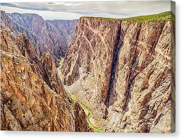 Canvas Print featuring the photograph Rivers Of Time by Eric Glaser