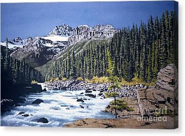 River's Path Canvas Print