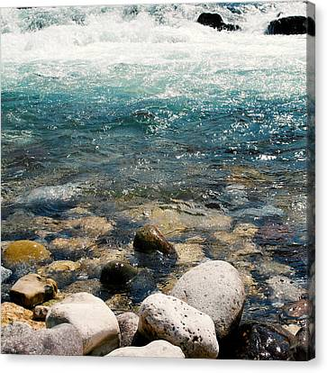 Sun Rays Canvas Print - Riverscape Jc by Filippo B