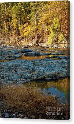 Canvas Print featuring the photograph Riverside by Iris Greenwell