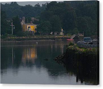 Canvas Print featuring the photograph Riverview Reflections by Margie Avellino