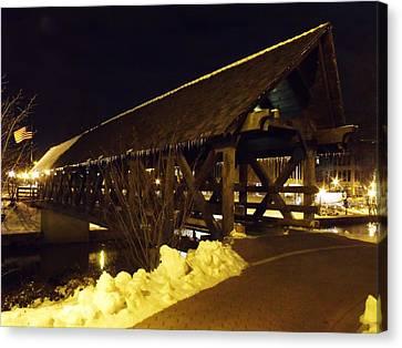 Canvas Print - Riverwalk Bridge IIi by Anna Villarreal Garbis