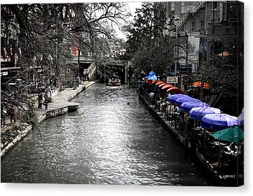 Riverwalk Canvas Print by Shane Rees