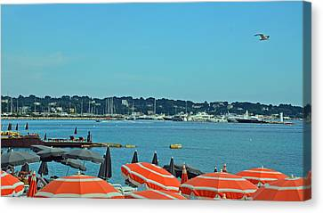 South Of France Canvas Print - Riviera Style by Corinne Rhode