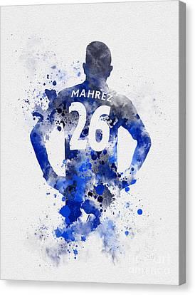 Riyad Mahrez Canvas Print