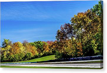 Road America In The Fall Canvas Print