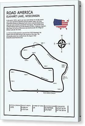 Road America Canvas Print